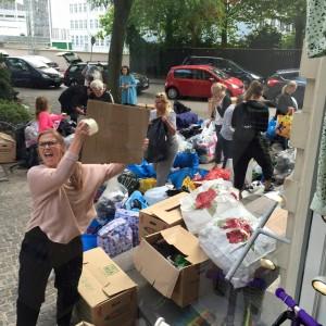 Privat indsamling til Lesbos